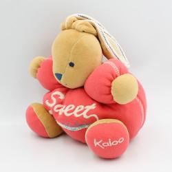Doudou lapin rouge Sweet KALOO