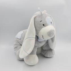 Grand Doudou chien gris mauve bleu Arthur NOUKIE'S