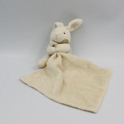 Doudou Lapin blanc avec mouchoir Doudou et compagnie