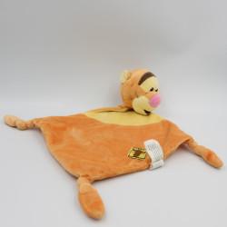 Doudou plat Tigrou orange jaune DISNEY