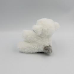 Doudou et compagnie mouton blanc gris hochet