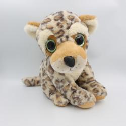 Grande Peluche léopard gros yeux brillant ZD TRADING