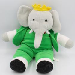 Peluche Babar l'éléphant LANSAY 35 cm