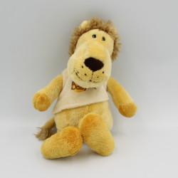 Doudou lion jaune beige BABY NAT