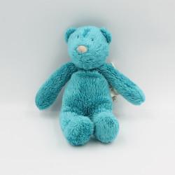 Doudou ours bleu les p'tits doudous MOULIN ROTY