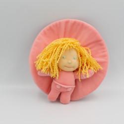 Peluche poupée rose de Chapi Chapo MARIE LEBLON