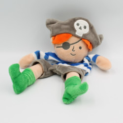 Doudou plat marionnette pirate HEMA
