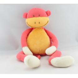 Doudou singe rouge JACADI