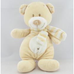Doudou ours écru My Little Teddy NICOTOY