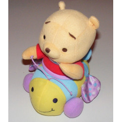 Doudou Winnie sur son abeille vibrante Fisher price Disney