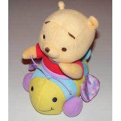 Doudou Winnie sur son abeille vibrante Fisher price Disney