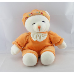 Doudou ours Baby Bear orange GIPSY