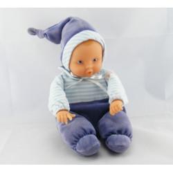 Doudou bébé poupée Baby Pouce bleu COROLLE 2001