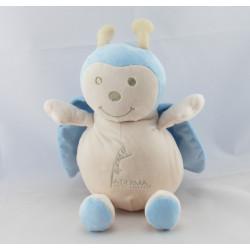 Doudou coccinelle écru bleu ADERMA A-DERMA