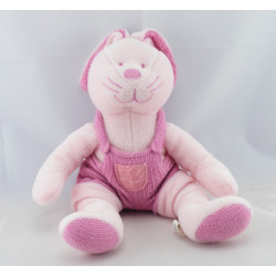 Doudou lapin bleu CP INTERNATIONAL