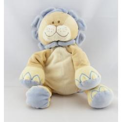 Doudou musical lion beige bleu BENGY