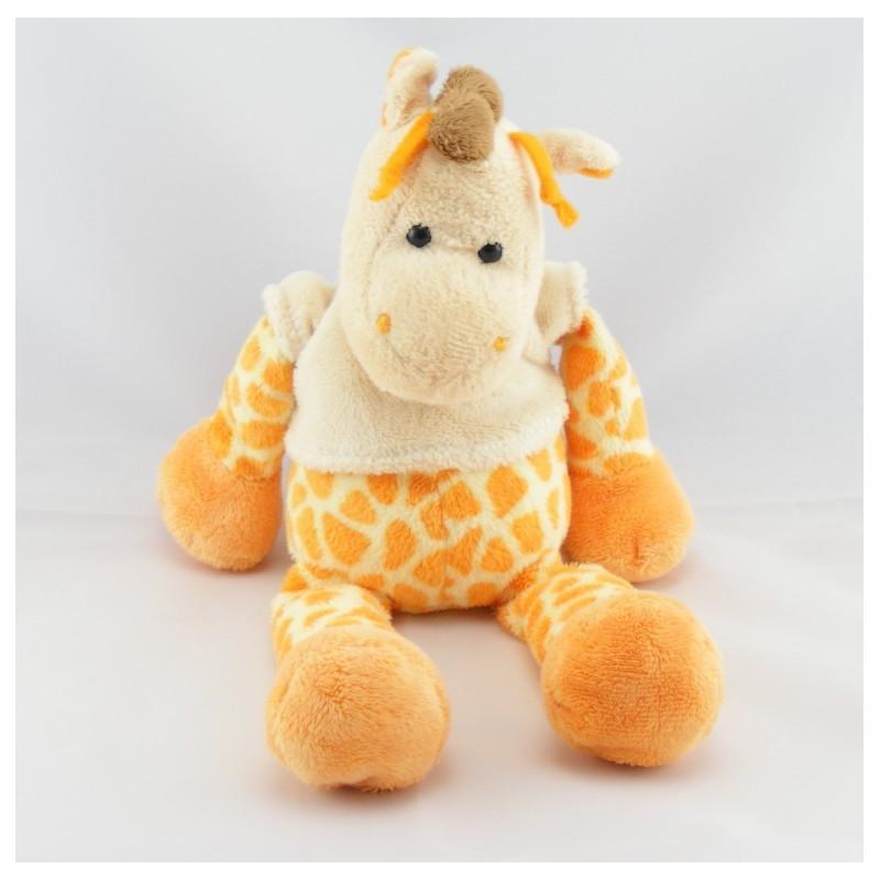 Doudou girafe pull blanc BABY NAT