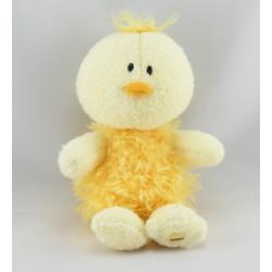 Doudou canard poussin jaune LUMINOU
