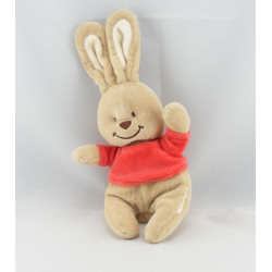 Doudou lapin maillot rouge BENGY