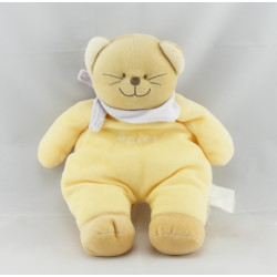 Doudou chat jaune  Patou BENGY