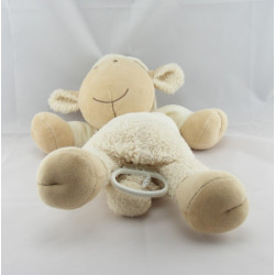 Doudou musical mouton blanc NATURE ET DECOUVERTE