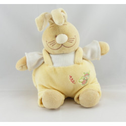 Doudou lapin jaune Gaspard NOUKIE'S