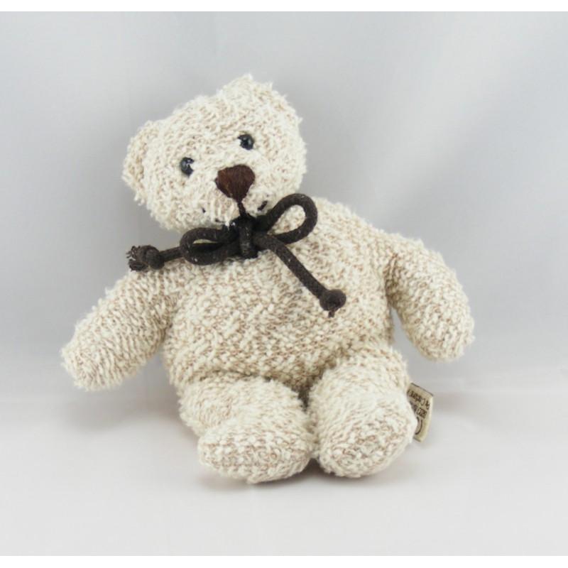 Doudou ours blanc LES PETITES MARIE