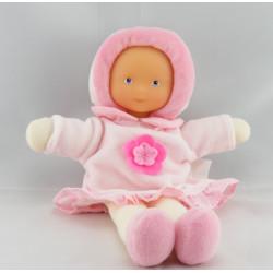 Doudou poupée bébé rouge Mademoiselle Grenadine COROLLE
