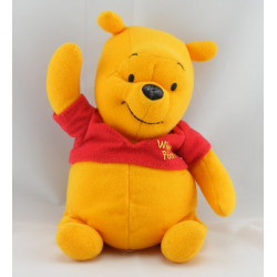 Doudou  Winnie l'ourson allongé Disney