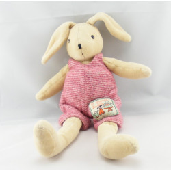 Doudou marionnette lapin grande famille MOULIN ROTY
