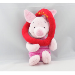 Doudou Porcinet pull rose coeur xxx DISNEY STORE