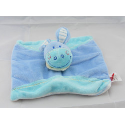 Doudou plat ane cheval lapin bleu TEX