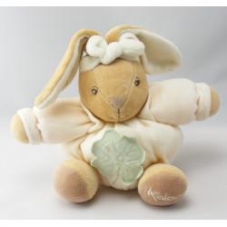 Doudou lapin beige rose KALOO 1998