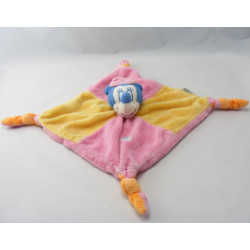 Doudou plat minnie rose jaune DISNEY