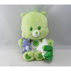 Peluche Bisounours vert Grostaquin étoile filante CARE BEARS