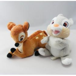 Peluche Bambi l'ami de Pan-pan DISNEY CLASSICS