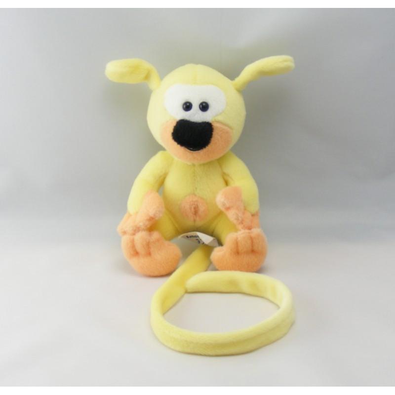 Peluche bébé Marsupilami jaune MARSU2001 NOUNOURS