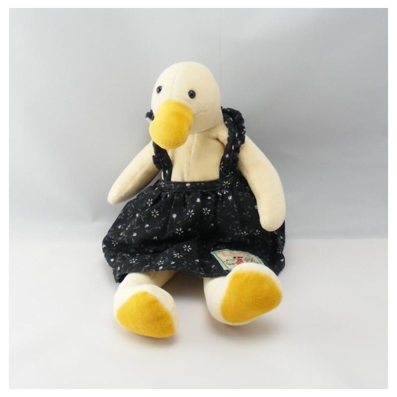 Doudou Oie canard la grande famille Moulin Roty