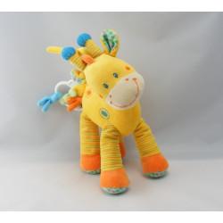 Doudou Girafe jaune NICOTOY