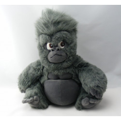 Doudou marionnette singe gris noir Tok Tarzan DISNEY