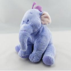 Doudou  Eléphant mauve éfélant Lumpy Winnie Disney Nicotoy