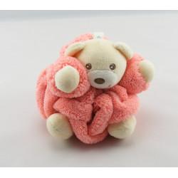 Doudou petit ours Plume rose KALOO