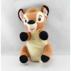 Doudou Bambi avec mouchoir couverture verte DISNEY NICOTOY