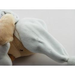 Doudou ours bleu ciel lune NATTOU