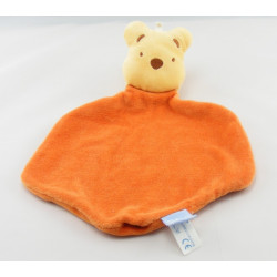 Doudou Plat Winnie l'Ourson orange