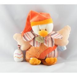 Doudou plat marionnette Banjo l'oiseau DOUDOU ET COMPAGNIE