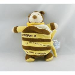 Doudou et compagnie abeille bourdon Ponpon cape