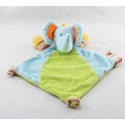 Doudou musical éléphant bleu NICOTOY