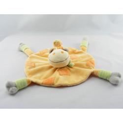 Doudou chameau dromadaire jaune vert KIMBALOO