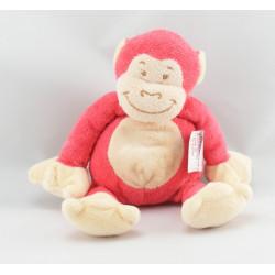 Doudou singe rouge BENGY